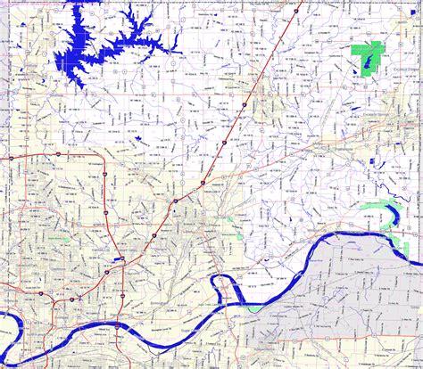 missouri map clay county landmarkhunter clay county missouri