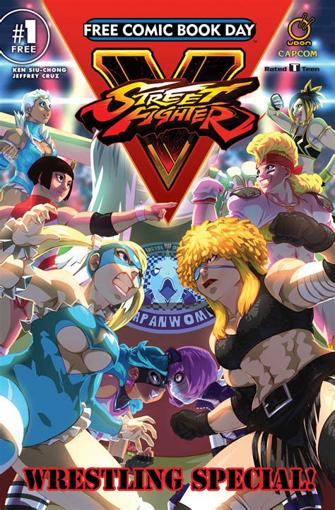 free comics jan170046 fcbd 2017 fighter v special