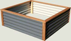 Colorbond Planter Boxes by Raised Galvanized Steel Planter Box That Built Easy