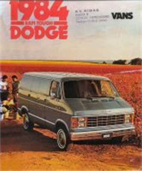 old car manuals online 1995 dodge ram van 2500 interior lighting 1984 dodge ram brochure