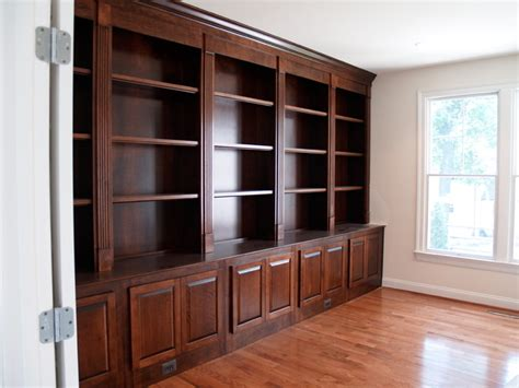 custom bookcases traditional home office boston by