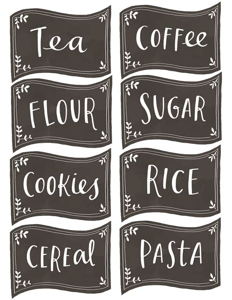 printable pantry labels my favorite free printables collection of my top