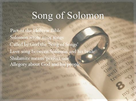 song of song of solomon