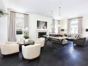 living room floors park avenue apartment living room grey wood floors white