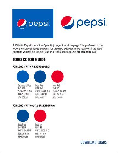 pepsi color pepsi colors hex rgb cmyk pantone color codes u s