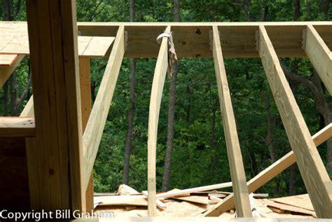 splice deck beam  middle post fine homebuilding