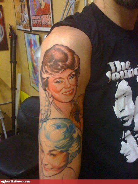 golden girls tattoo there are so pictures to pin on tattooskid