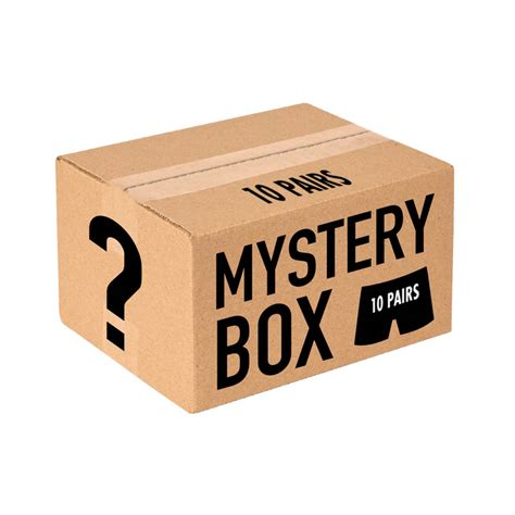 Mystery Box mystery box 10 pairs s s by