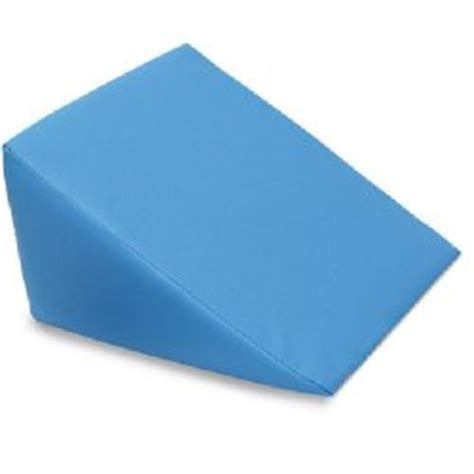 Large Wedge Pillow by Large Foam Wedge Pillow Blue Sports Supports