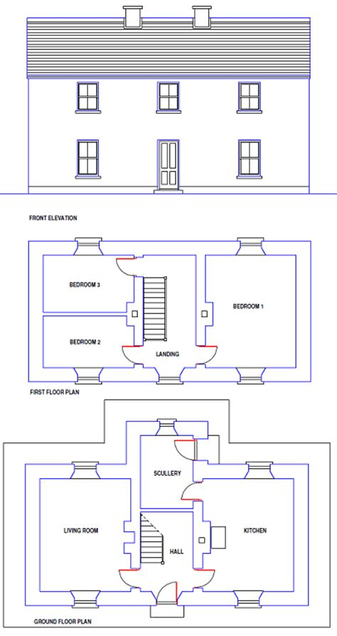 traditional irish house plans blueprint home plans house plans house designs planning applications architectural
