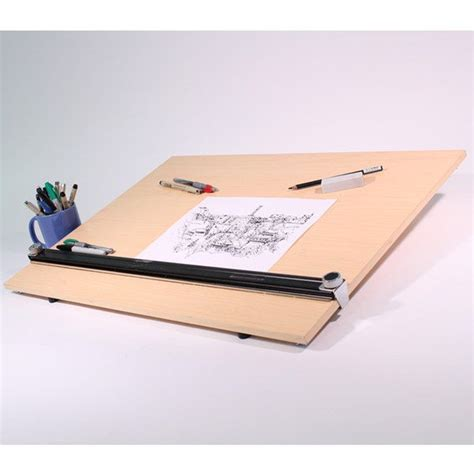 Portable Drafting Table Top Drafting Table Top Board Portable Travel Easel Steel Wood Professional Arts Crafts Supplies