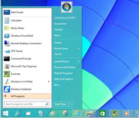 Windows 7 Starter Guide windows 7 style start menu for windows 10