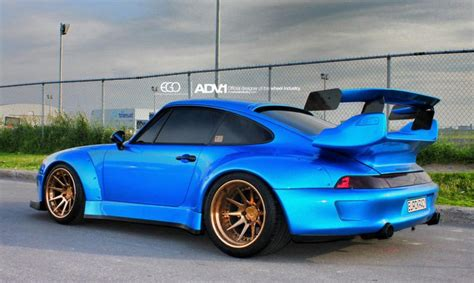 porsche 993 turbo wheels mesmerizing porsche 993 turbo rwb on adv1 wheels