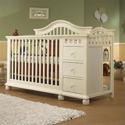 Sorelle Crib Changer Combo by Sorelle Cape Cod 4 In 1 Convertible Combo Crib In
