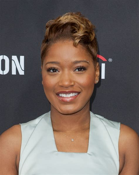 keke wyatts short cut with long front keke palmer hair looks stylebistro
