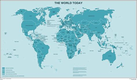 world map  countries  cities