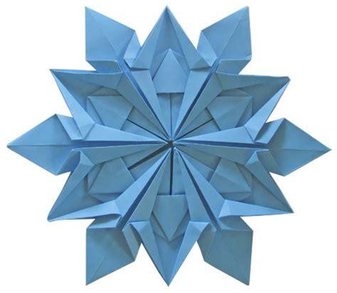 Origami Snow - snowflakes origami and diy snowflakes on