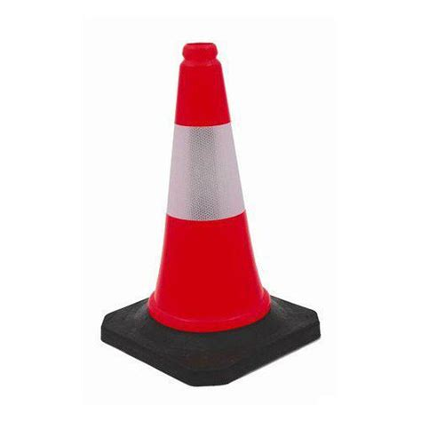 Generic Rubber 70cm Traffic Cone sell traffic cone roadblock 70 cm plastic from indonesia