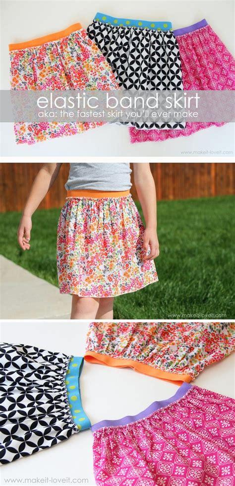 skirt pattern waist ease elastic waist band skirt seamstress pinterest