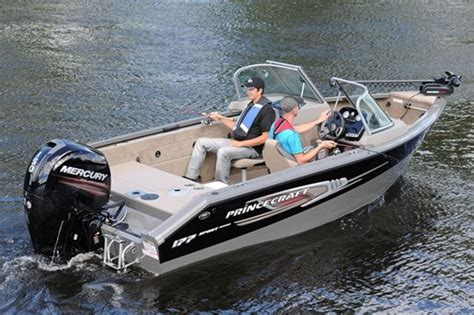 quebec fishing boat builders 2014 princecraft sport 177 p 234 che en aluminium critique du