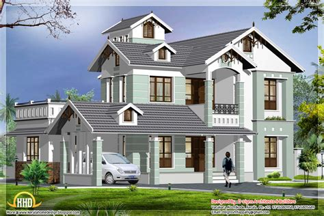 home design architect 2000 sq ft home architecture plan kerala home design and