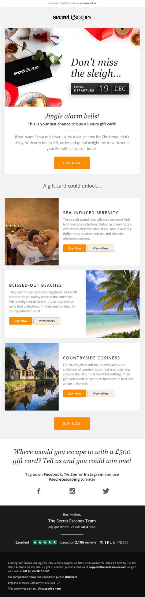 tom secret escapes email top 10 email template exles