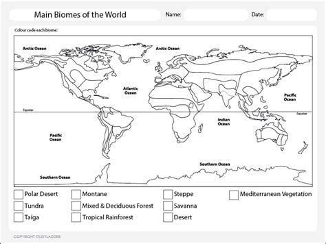 ask a biologist coloring page key pictures biomes map worksheet roostanama