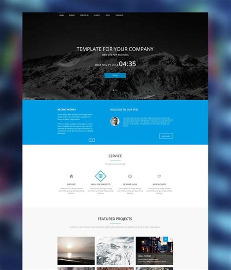 25 Latest Bootstrap Themes Free Download Designmaz Personal Page Template Bootstrap