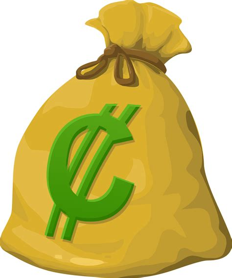 free clipart images misc money bag png