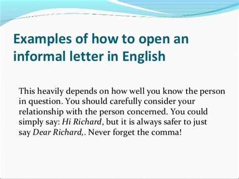 Informal Letter Closing the ultimate informal letter writing guide