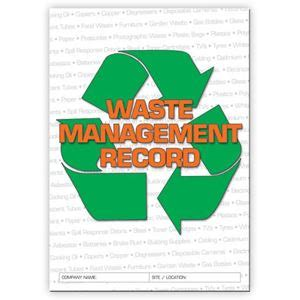 Waste Management Background Check Waste Management Logbook Buy Commercial Logbook Personalised Custom Log Books