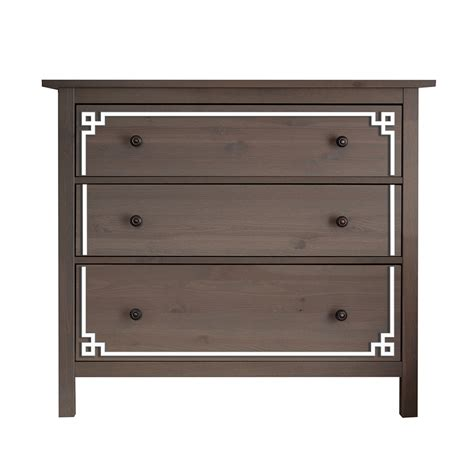 o verlays pippa kit for hemnes 3 drawer dresser