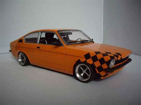 opel orange opel kadett coupe sr 1976 orange minichs coches