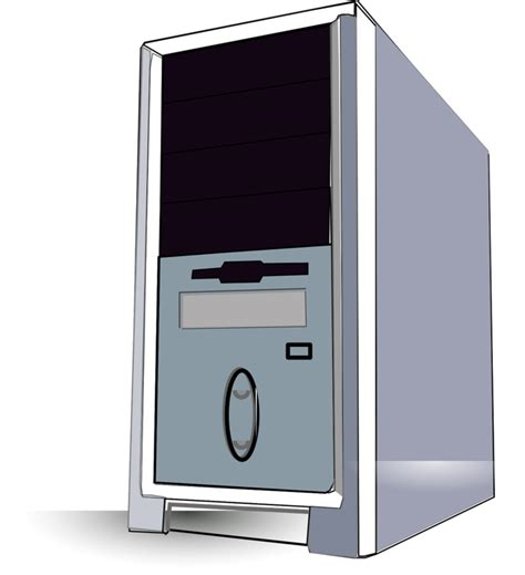 clipart pc computer tower clipart 101 clip