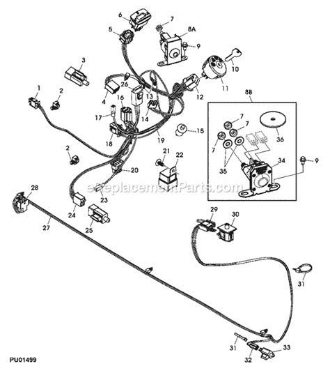 john deere la mower parts diagram car interior design