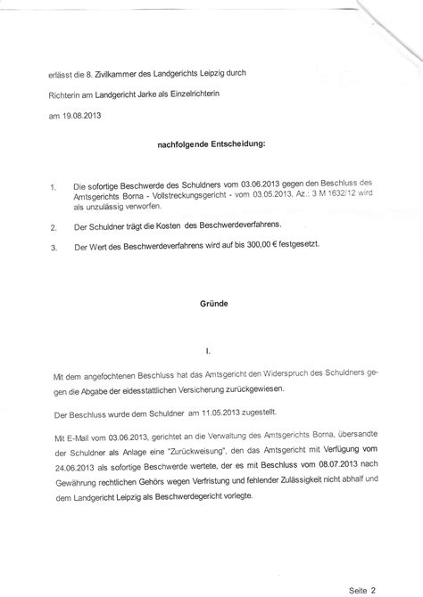 Beschwerde Brief An Vermieter Landgericht Leipzig Willk 252 R Einer Angeblichen Richterin Volksbetrug Net