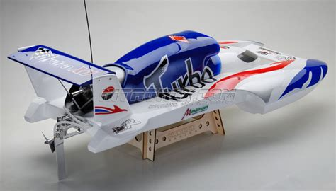 nitro rc hydroplane boats exceed racing fiberglass turbo 26cc gas powered artr