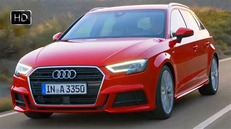 Audi A3 Sportback Quattro Test by 2017 Audi A3 Quattro 174 Sportback Facelift Road Test Drive