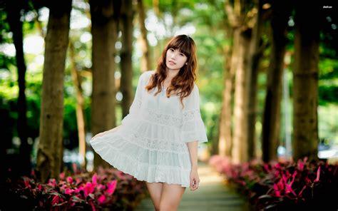 wallpaper girl dress asian girl in a white dress wallpaper girl wallpapers