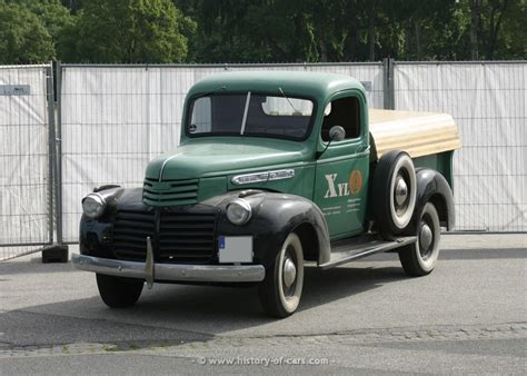gmc 1941 model cc 101 1 2ton the history of cars