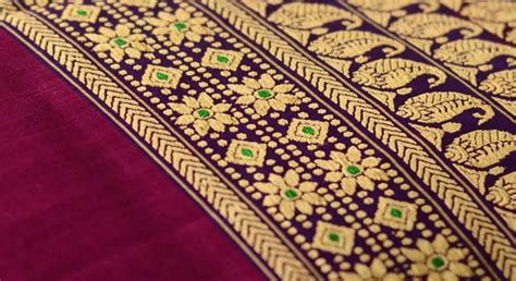 baluchari weaving bengal gaatha ग थ handicrafts