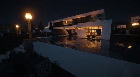 How To Make Light In Minecraft Aspire Modern Beach House 2 Minecraft House Design