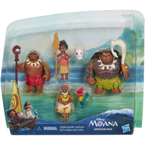 Promo Figure Moana 11pcs disney moana adventure pack only 14 95 reg 25
