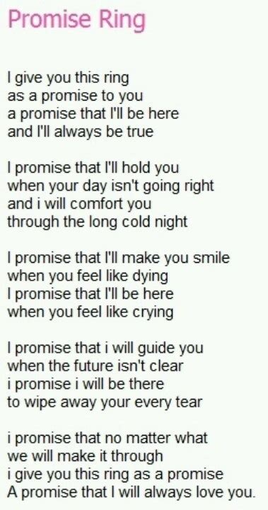 promise rings what is a promise ring meaning