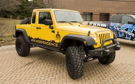 Jeep Conversion Kits To Truck Jeep S Moab Moment Auto News Truck Trend