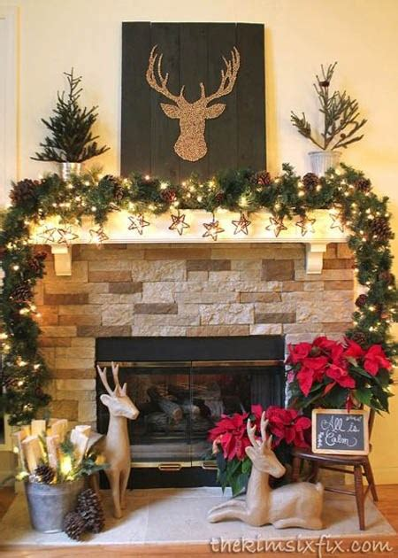 rustic country home decorating ideas fres hoom rustic christmas decor ideas billingsblessingbags org