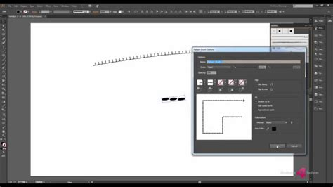 pattern making illustrator cc creating stitch brushes in adobe illustrator cc tutorial