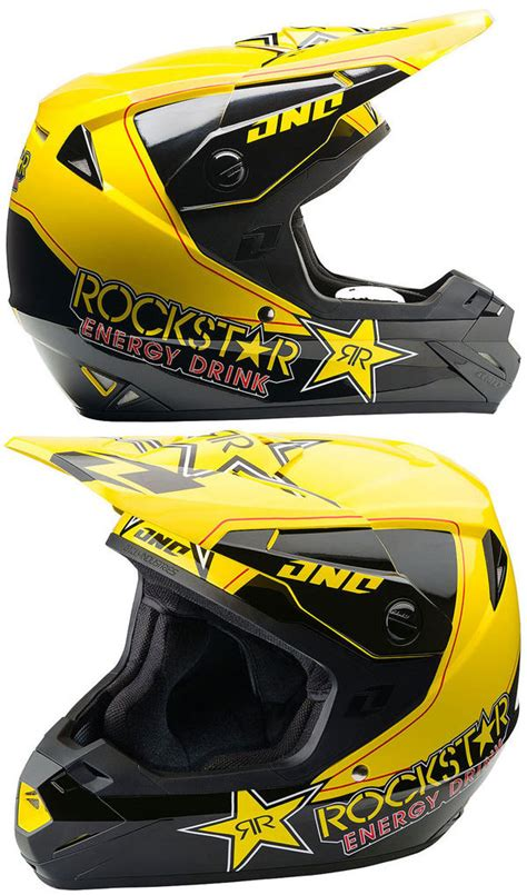 rockstar energy motocross gear one industries atom rockstar energy mx motocross helmet