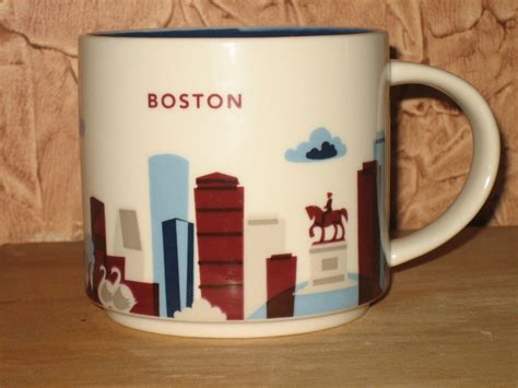 starbucks you are here collection starbucks quot you are here collection quot city mug series boston you are here you