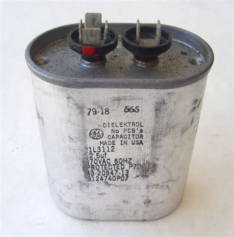 general electric capacitor 97f9833 dielektrol general electric capacitor 12 5 uf